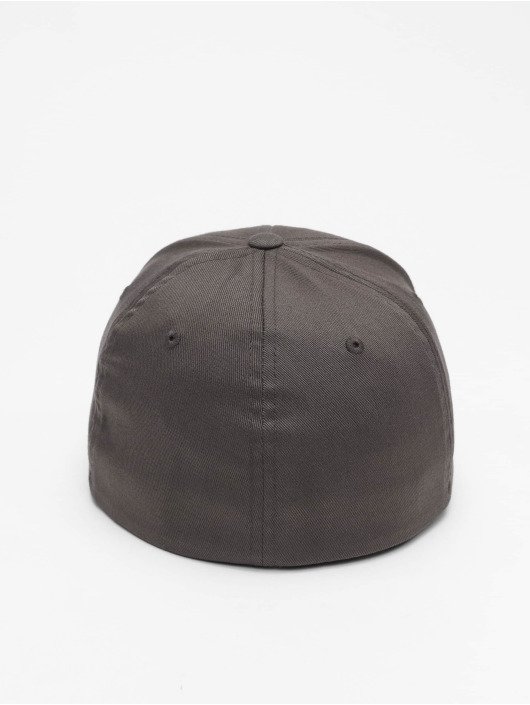 Flexfit Flexfitted Cap Wooly Combed Flexfitted Cap gray