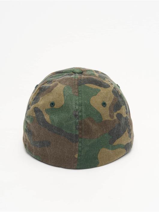 Flexfit Flexfitted Cap Garment Washed Camo green