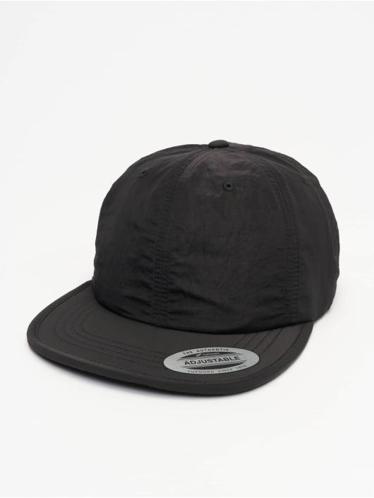 Flexfit Snapback Cap Adjustable Nylon black