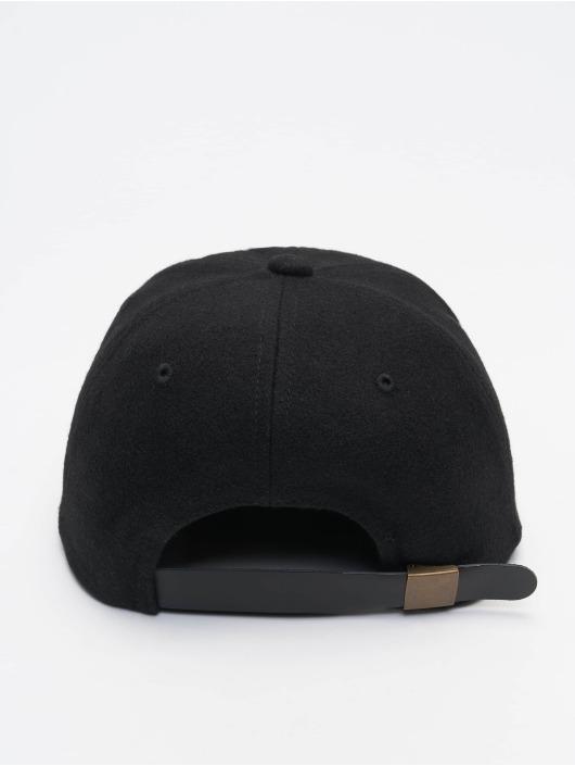 Flexfit Snapback Cap Melton black