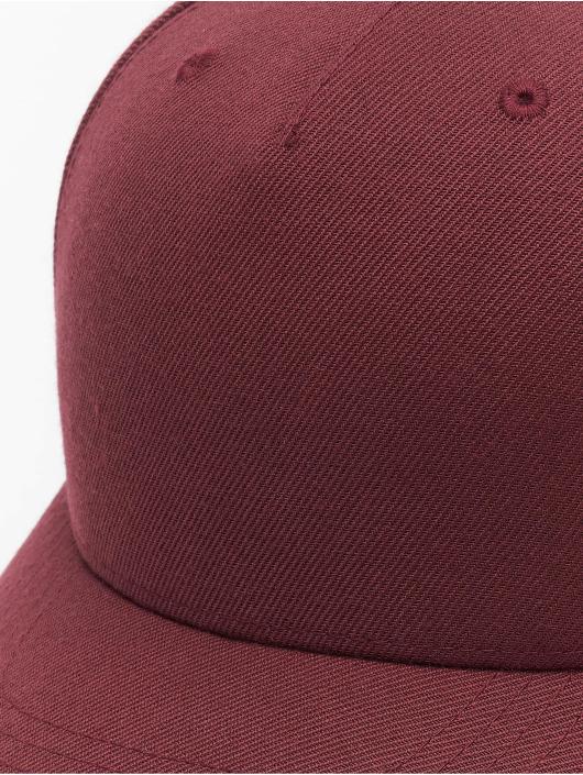 Flexfit Snapback Cap YP Classics 5-Panel Premium Curved Visor red