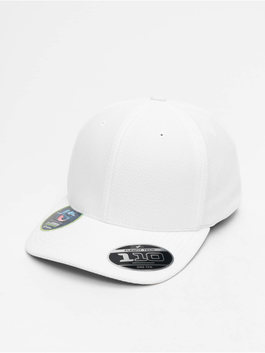 Flexfit Snapback Cap Velcro Hybrid white