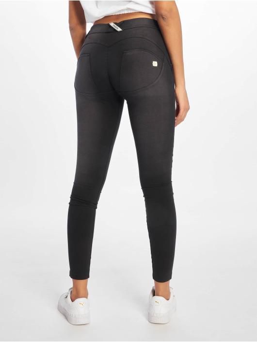 Freddy Skinny Jeans Regular Waist black