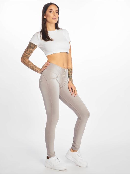 Freddy Skinny Jeans Medium Waist gray