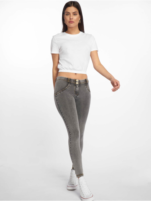 Freddy Skinny Jeans Regular Waist 7/8 Super gray