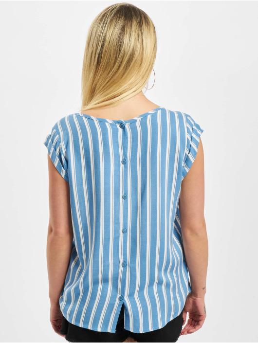 Fresh Made Blouse/Tunic Allover blue