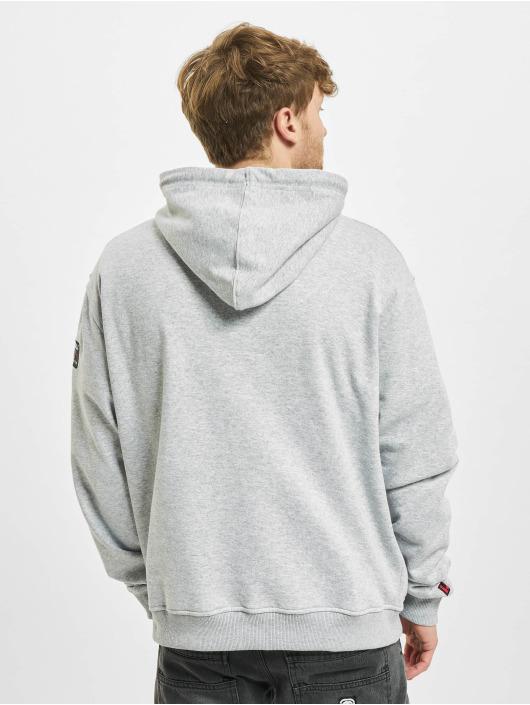 Fubu Hoodie Script gray