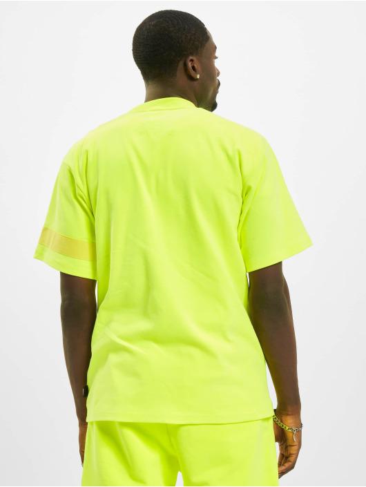 GCDS T-Shirt Fluo Logo yellow