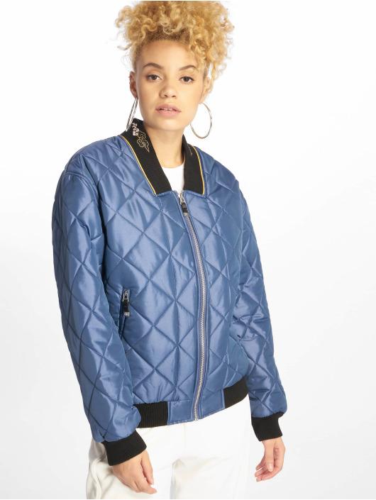 Grimey Wear Bomber jacket Transsiberian blue