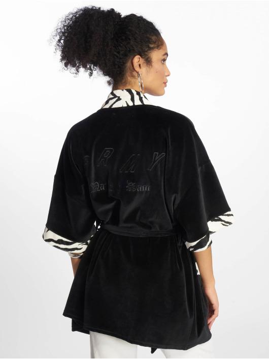 Grimey Wear Cardigan Natos Y Waor black