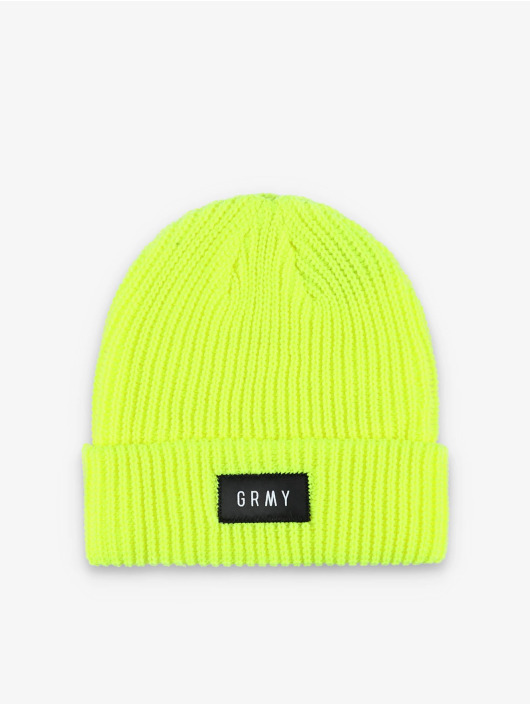 Grimey Wear Hat-1 Flying Saucer yellow