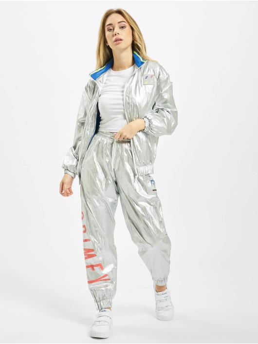 Grimey Wear Lightweight Jacket Planete Noire silver