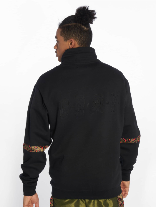 Grimey Wear Pullover Midnight Hi Neck black