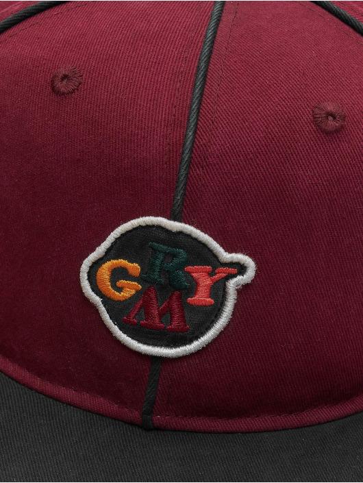 Grimey Wear Snapback Cap Wild Child red