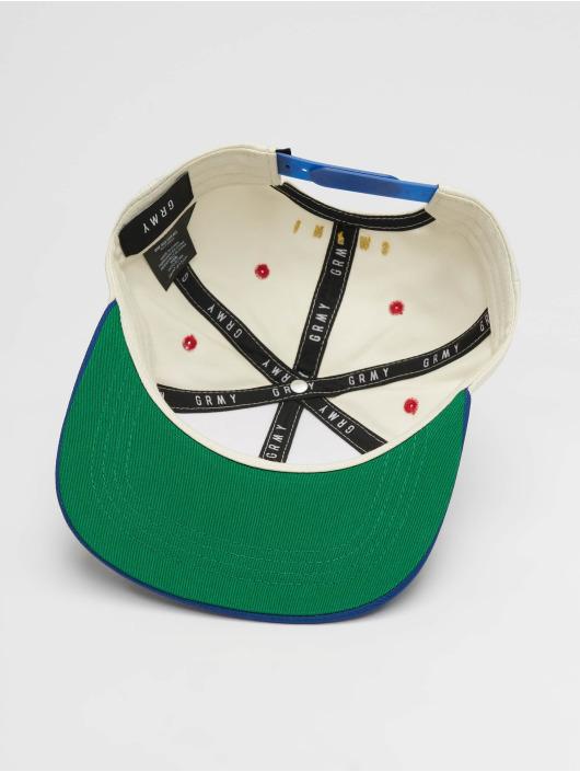 Grimey Wear Snapback Cap F.A.L.A. white