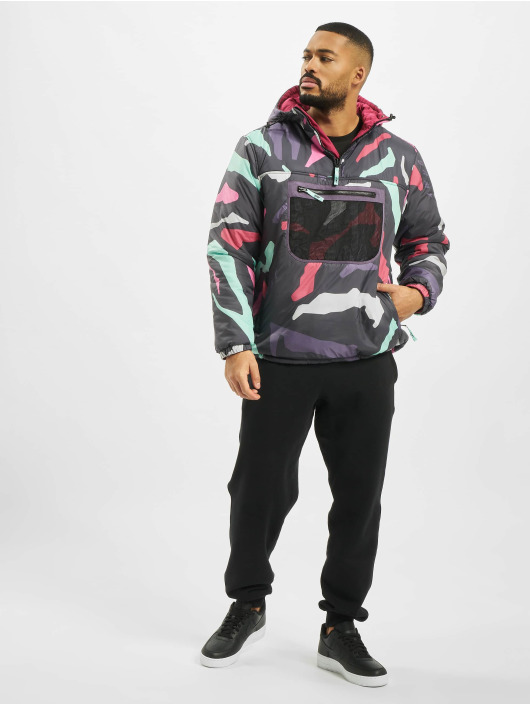 Grimey Wear Winter Jacket Mysterious Vibes Reversible pink