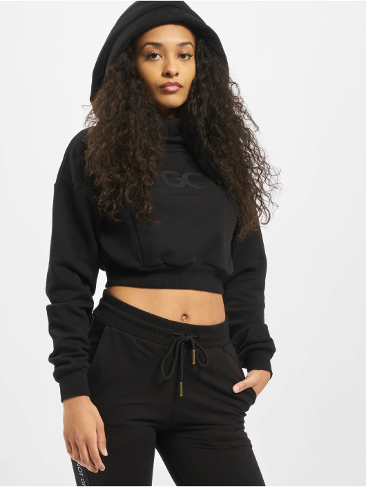 GymCodes Hoodie Icon Cropped black