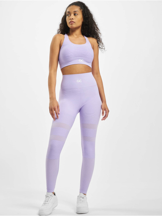 GymCodes Leggings/Treggings Madrid Premium Mesh purple
