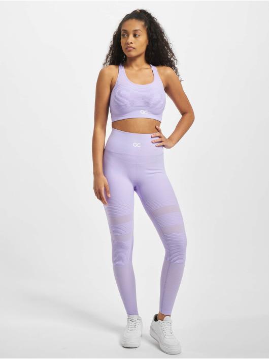GymCodes Sports Bra Barcelona Premium Mesh purple