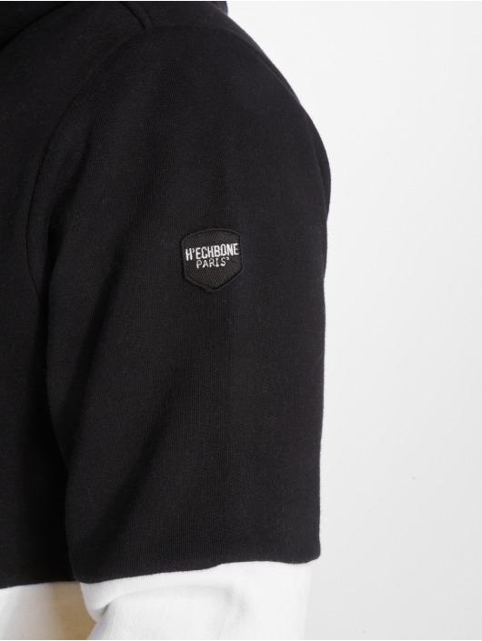 Hechbone Hoodie Colorblock black