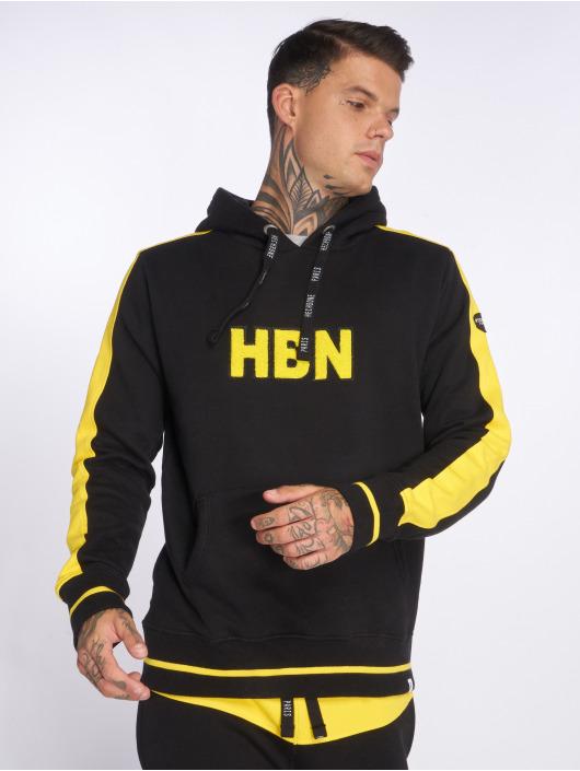Hechbone Hoodie Flock black