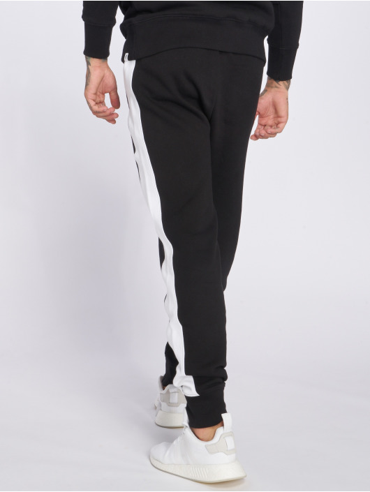 Hechbone Sweat Pant Stripe black