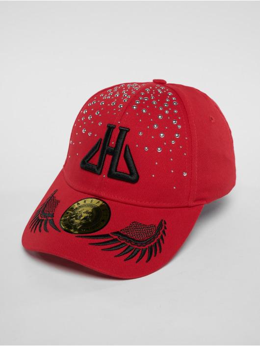 Horspist Snapback Cap Daryl red