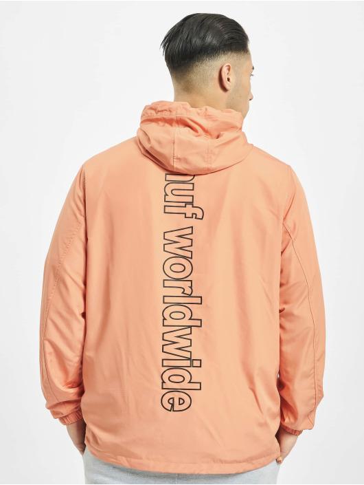 HUF Lightweight Jacket Peak 3.0 Anorak orange