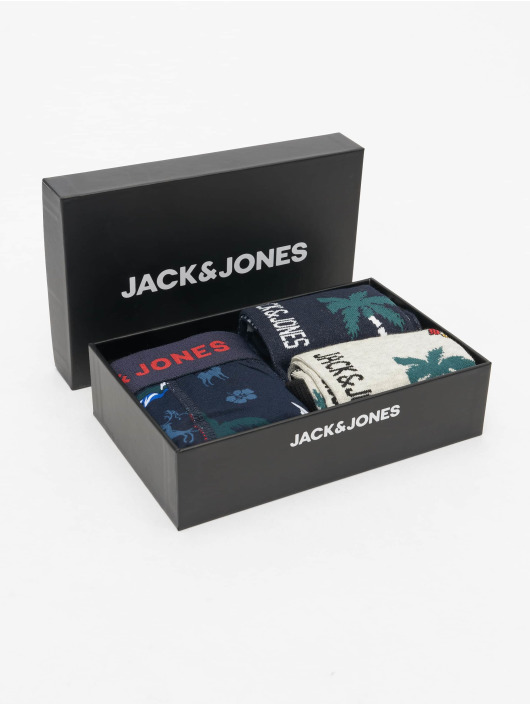 Jack & Jones Boxer Short jacOrg Giftbox blue