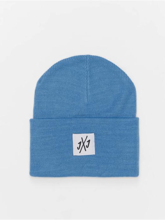 Jack & Jones Hat-1 jacLong Knit blue