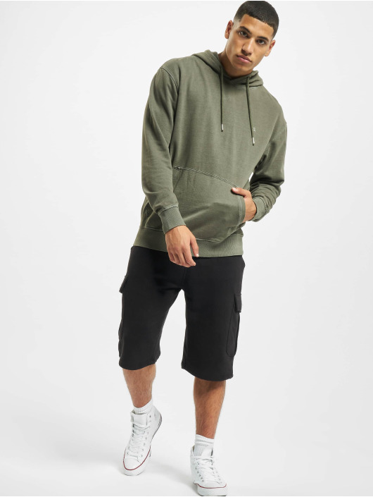 Jack & Jones Hoodie jjeWashed Noos green