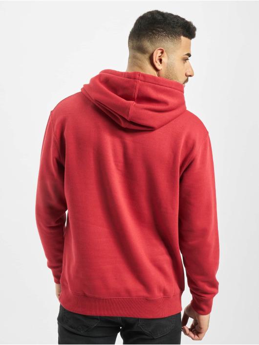 Jack & Jones Hoodie jjeSoft red