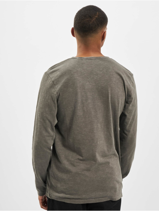 Jack & Jones Longsleeve jjeSplit Neck Noos green