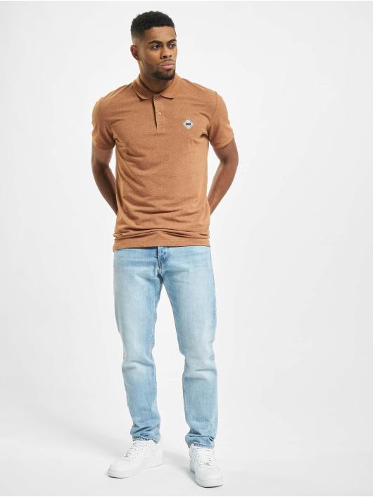 Jack & Jones Poloshirt jorMelange brown