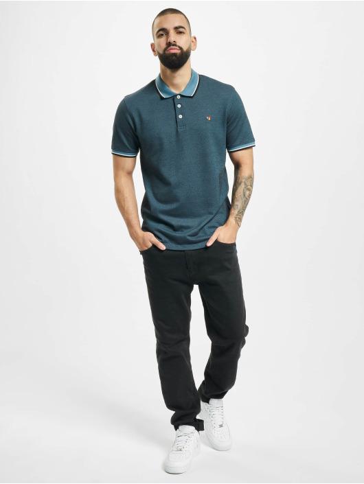 Jack & Jones Poloshirt jprBluwin Polo turquoise
