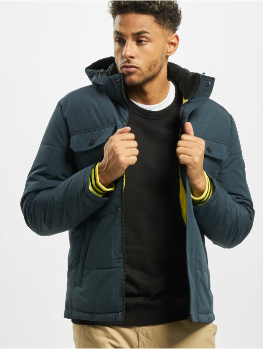 Jack & Jones Puffer Jacket jcoWill Puffer blue