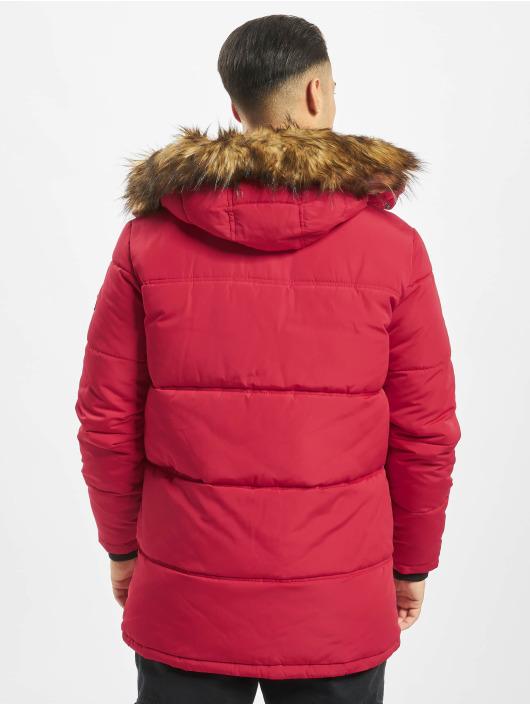 Jack & Jones Puffer Jacket jcoMario red