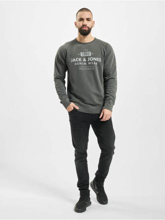 Jack & Jones Pullover jjeJeans black