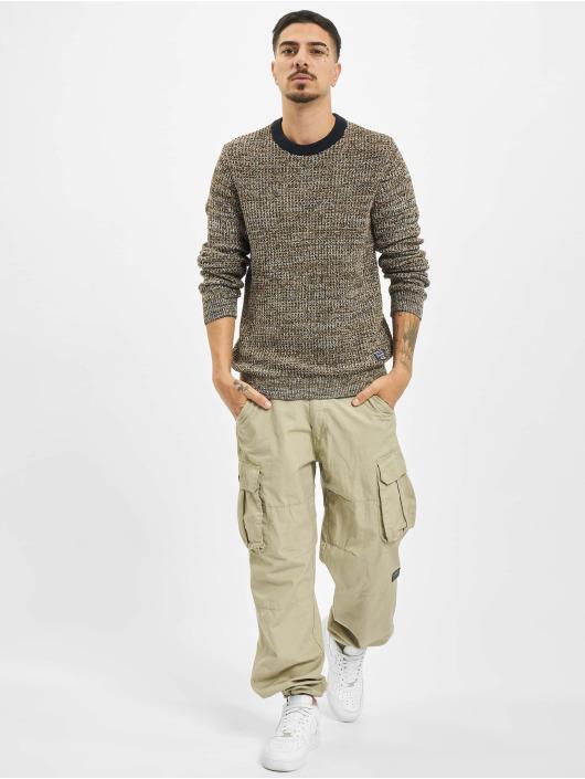 Jack & Jones Pullover jorWoods Knit brown
