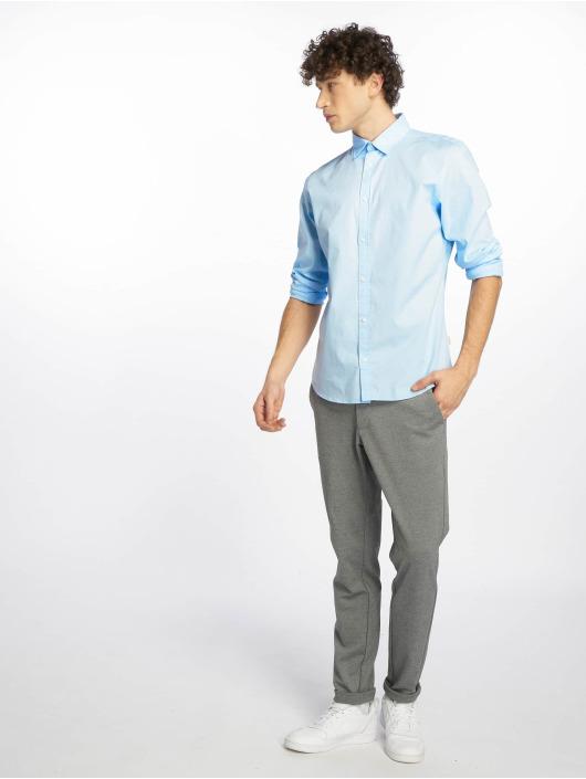 Jack & Jones Shirt jjePoplin blue