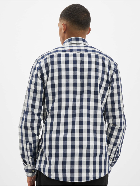 Jack & Jones Shirt jjePlain Check Noos blue