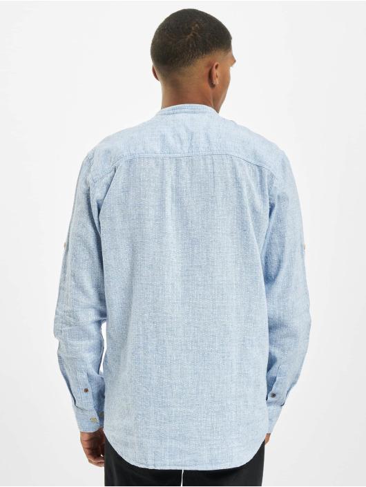 Jack & Jones Shirt jprBlusummer Dobby Band blue