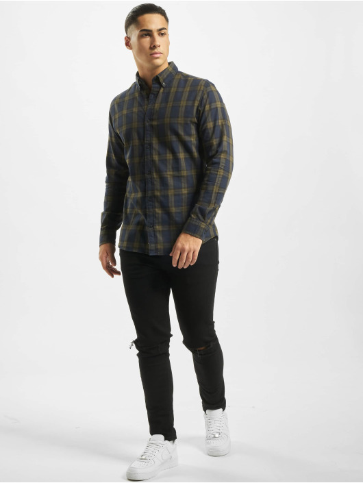 Jack & Jones Shirt jcoMahone Plain green