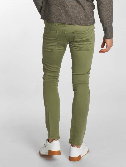 Jack & Jones Slim Fit Jeans jjiGlenn jjJaxx Biker olive