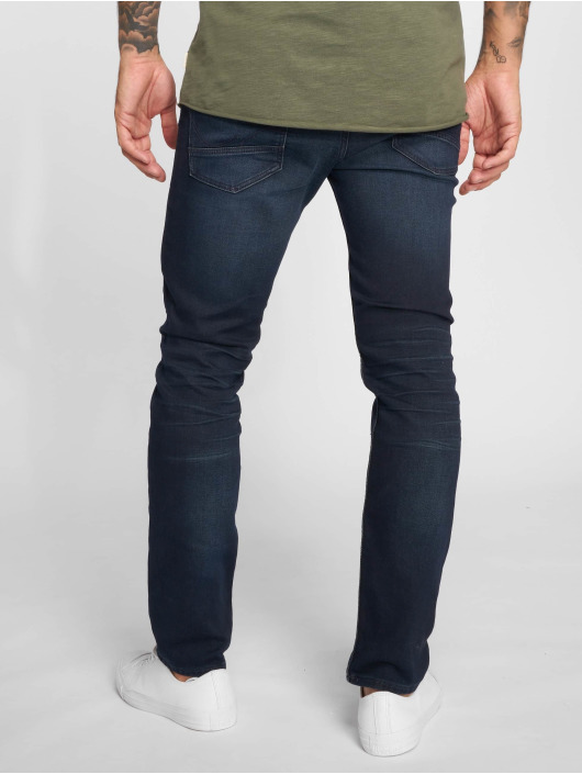 Jack & Jones Straight Fit Jeans Jjitim Jjleon Ge 189 I.k. Noos blue