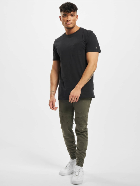 Jack & Jones T-Shirt jprMercury Pocket black