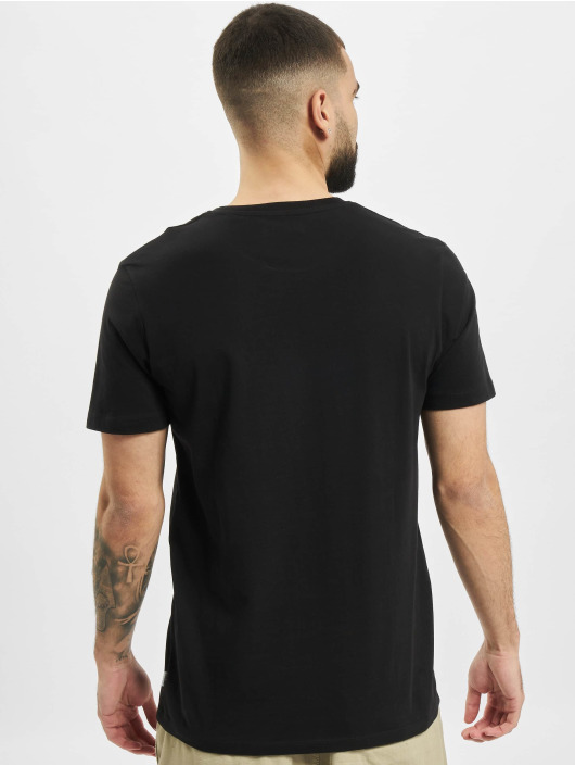 Jack & Jones T-Shirt jjCircle Flock black