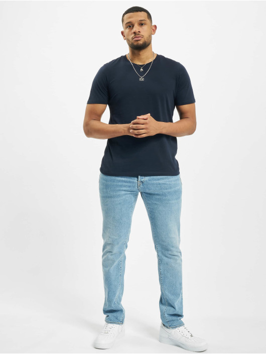 Jack & Jones T-Shirt jjeOrganic Basic Noos blue