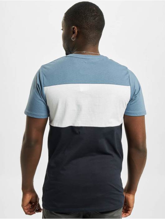 Jack & Jones T-Shirt jjeLogo Blocking Noos blue