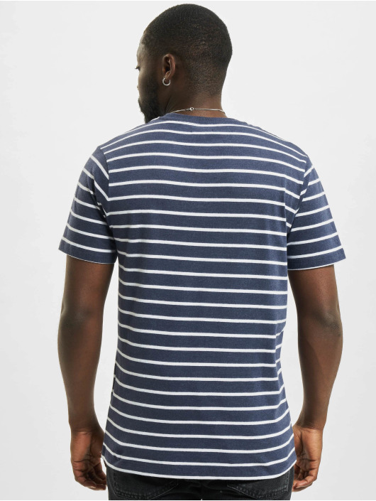 Jack & Jones T-Shirt jprBlutom Stripe blue